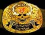 Adult WWF Stone Cold Smoking Skull Title Belt